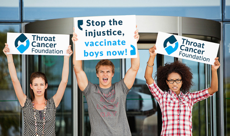 Help Us In Our Fight To End HPV And HPV-related Cancers